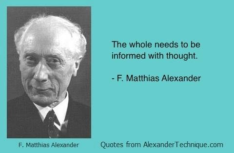 FM Alexander quote